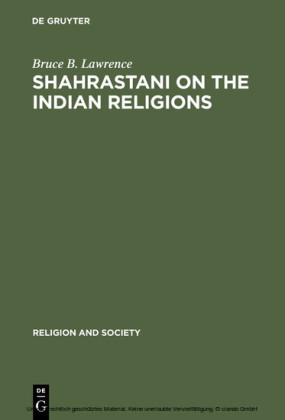 Shahrastani on the Indian Religions