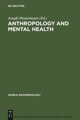 Anthropology and Mental Health