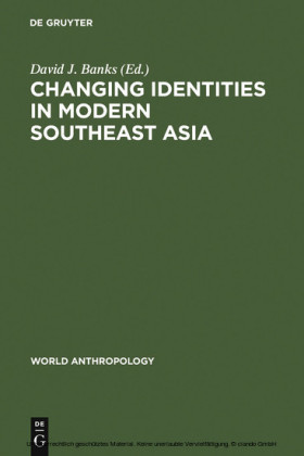 Changing Identities in Modern Southeast Asia