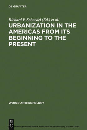 Urbanization in the Americas from its Beginning to the Present