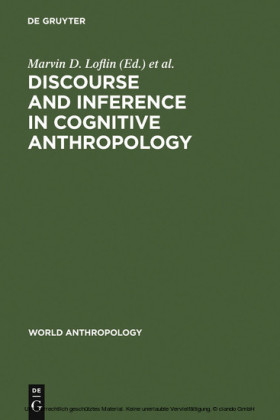 Discourse and Inference in Cognitive Anthropology