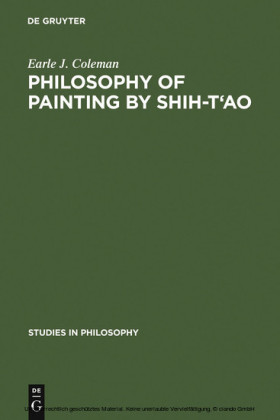 Philosophy of Painting by Shih-T'ao