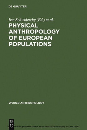 Physical Anthropology of European Populations