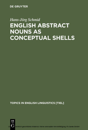English Abstract Nouns as Conceptual Shells