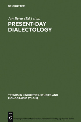 Present-day Dialectology