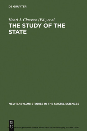 The Study of the State
