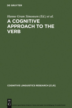 A Cognitive Approach to the Verb