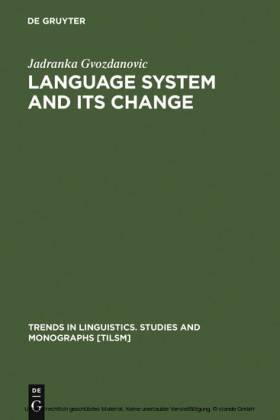 Language System and its Change
