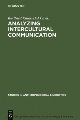 Analyzing Intercultural Communication