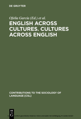English across Cultures. Cultures across English