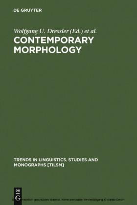 Contemporary Morphology
