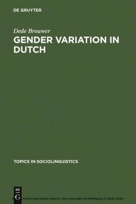 Gender Variation in Dutch