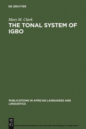 The Tonal System of Igbo