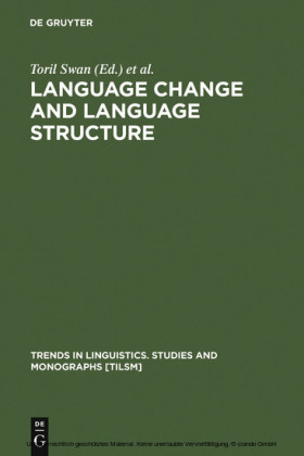Language Change and Language Structure