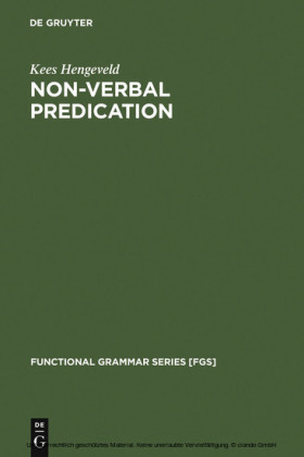 Non-Verbal Predication