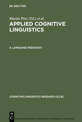 Language Pedagogy