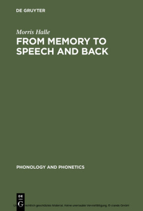 From Memory to Speech and Back