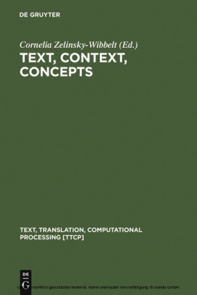 Text, Context, Concepts