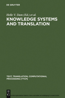 Knowledge Systems and Translation