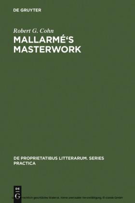 Mallarmé's Masterwork