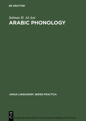 Arabic Phonology