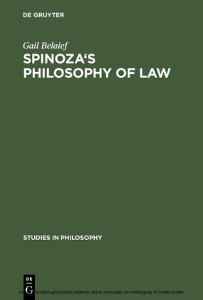 Spinoza's Philosophy of Law