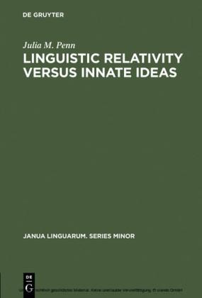 Linguistic Relativity versus Innate Ideas