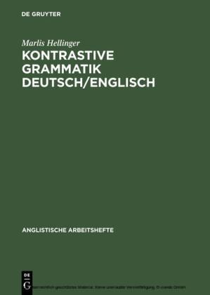 Kontrastive Grammatik Deutsch/Englisch
