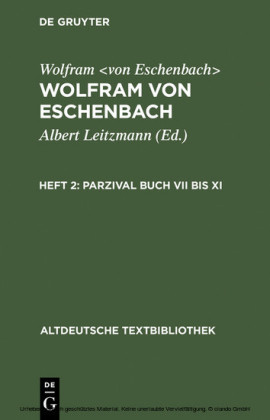 Parzival Buch VII bis XI