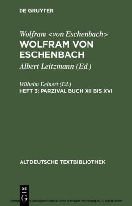 Parzival Buch XII bis XVI