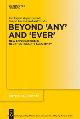 Beyond 'Any' and 'Ever'