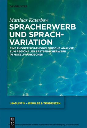 Spracherwerb und Sprachvariation