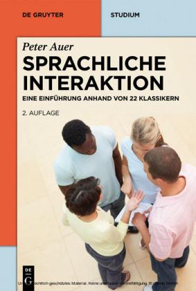 Sprachliche Interaktion