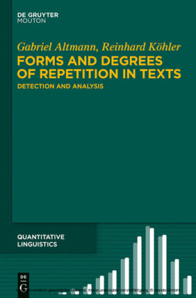 Forms and Degrees of Repetition in Texts