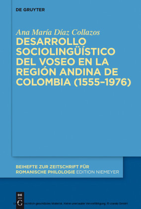Desarrollo sociolingüístico del voseo en la región andina de Colombia (1555-1976)