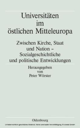 Universitäten im östlichen Mitteleuropa
