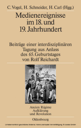 Medienereignisse im 18. und 19. Jahrhundert