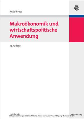 Makroökonomik und wirtschaftspolitische Anwendung