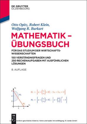 Mathematik - Übungsbuch