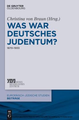 Was war deutsches Judentum?