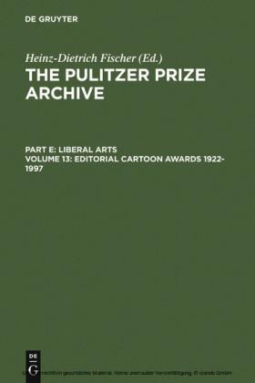 Editorial Cartoon Awards 1922-1997