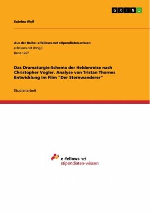 Das Dramaturgie-Schema der Heldenreise nach Christopher Vogler. Analyse von Tristan Thornes Entwicklung im Film 'Der Sternwanderer'