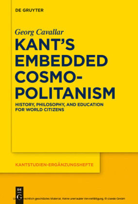 Kant's Embedded Cosmopolitanism