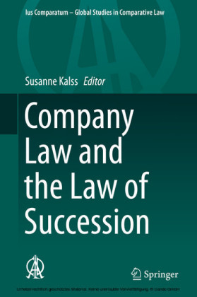 Company Law and the Law of Succession