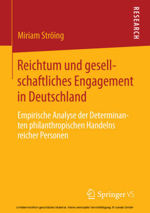 Reichtum und gesellschaftliches Engagement in Deutschland