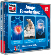 Was ist was Hörspielbox: Junge Forscher-Box, 3 Audio-CDs Cover