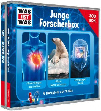 Was ist was Hörspielbox: Junge Forscher-Box, 3 Audio-CDs