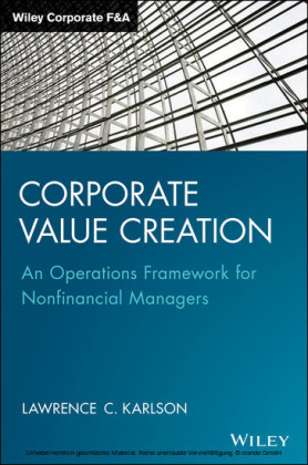 Corporate Value Creation