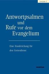 Antwortpsalmen und Rufe vor dem Evangelium - Lesejahr C Cover