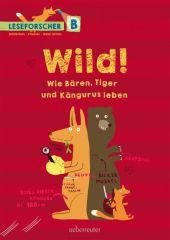 Wild! Tierisches vom Tiger bis zum Känguru Cover
